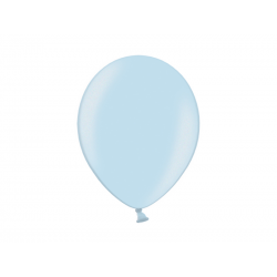 Balony 14'', Metallic Light Blue (1 op. / 100 szt.)