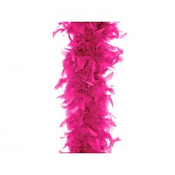 Boa, neonowy róż, 180cm