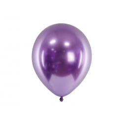 Balony Glossy 30cm, fiolet (1 op. / 50 szt.)