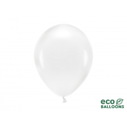 Balony Eco 26cm, transparentny (1 op. / 10 szt.)