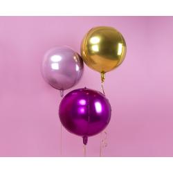 Balon foliowy Kula, 40cm, złoty