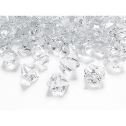 Kryształowy lód, bezbarwny, 25 x 21mm (1 op. / 50 szt.)