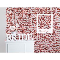 Drewniana litera B, biały, 16,5x20cm