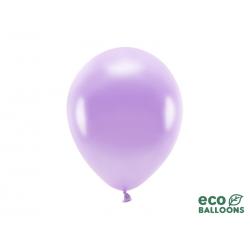 Balony Eco 26cm metalizowane, lawenda (1 op. / 10 szt.)