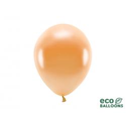Balony Eco 26cm metalizowane, pomarańczowy (1 op. / 10 szt.)