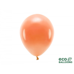 Balony Eco 26cm pastelowe, pomarańczowy (1 op. / 100 szt.)