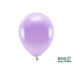 Balony Eco 30cm metalizowane, lawenda (1 op. / 100 szt.)
