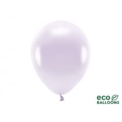 Balony Eco 30cm metalizowane, liliowy (1 op. / 10 szt.)