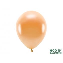 Balony Eco 30cm metalizowane, pomarańczowy (1 op. / 10 szt.)