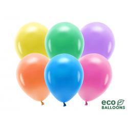 Balony Eco 30cm pastelowe, mix (1 op. / 10 szt.)