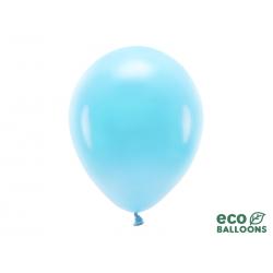 Balony Eco 30cm pastelowe, jasny niebieski (1 op. / 10 szt.)