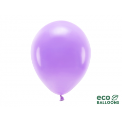 Balony Eco 30cm pastelowe, lawenda (1 op. / 100 szt.)