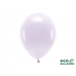 Balony Eco 30cm pastelowe, jasny liliowy (1 op. / 100 szt.)