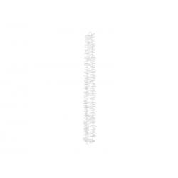 Girlanda na tło - Kwiaty, biały, 180cm