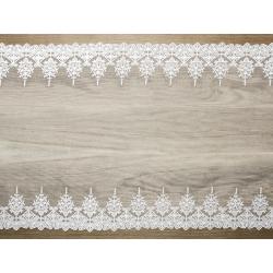 Koronka, złamana biel, 0,45 x 9m (1 szt. / 9 mb.)