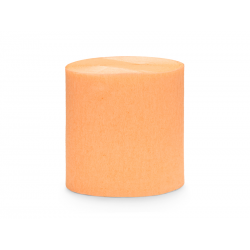 Krepa, 5cm/10m, jasny pomarańcz (1 op. / 4 szt.)