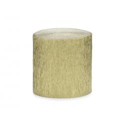Krepa, 5cm/10m, złoty (1 op. / 4 szt.)