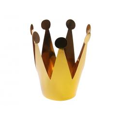 Korony Party, złoty, 7cm (1 op. / 3 szt.)