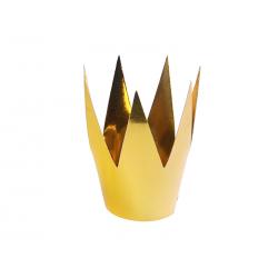 Korony Party, złoty, 5,5cm (1 op. / 3 szt.)