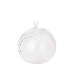 Kule szklane - świeczniki, 10cm (1 op. / 4 szt.)