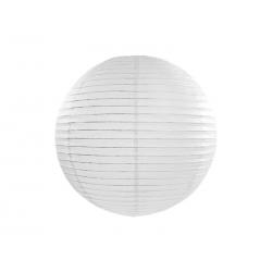 Lampion papierowy, biały, 35cm