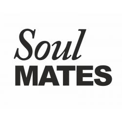 Naklejki na buty Soulmates (1 op. / 2 szt.)