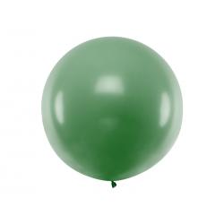 Balon okrągły 1m, Pastel Dark Green