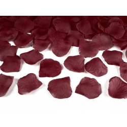 Płatki róż w woreczku, bordo (1 op. / 100 szt.)