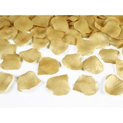 Płatki róż w woreczku, złoty (1 op. / 500 szt.)