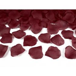 Płatki róż w woreczku, bordo (1 op. / 500 szt.)