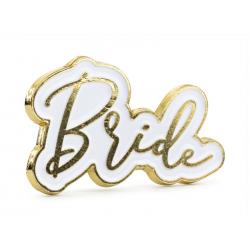 Przypinka Bride, 3.5x2cm