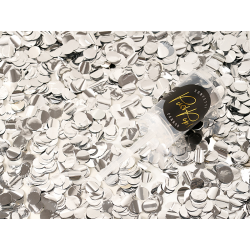 Push pop konfetti, srebrny