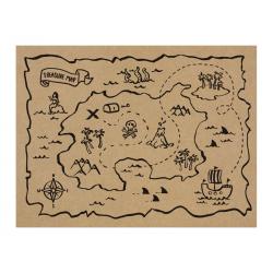 Podkładki papierowe Piraci, 40x30cm (1 op. / 30 szt. / 5 mop.)