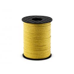Wstążka plastikowa, złoty, 5mm/225m