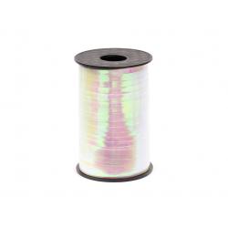 Wstążka plastikowa, opalizujący, 5mm/225m