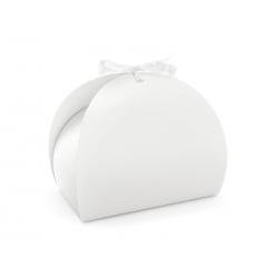 Pudełko na ciasto, biały, 16,5x14x9,5cm (1 op. / 10 szt.)