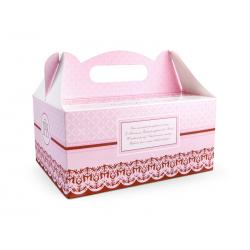 Ozdobne pudełka na ciasto komunijne (1 op. / 10 szt.)