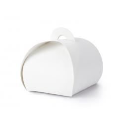 Pudełeczka, biały, 6x6x5,5cm (1 op. / 10 szt.)
