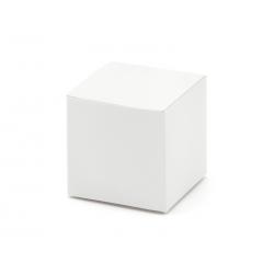 Pudełeczka kwadratowe, biały (1 op. / 10 szt.)