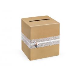 Pudełko na telegramy, 24 x 24 x 24cm