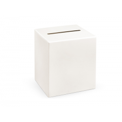 Pudełko na koperty, kremowy, 24x24x24cm
