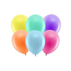 Balony Rainbow 23cm pastelowe, mix (1 op. / 100 szt.)