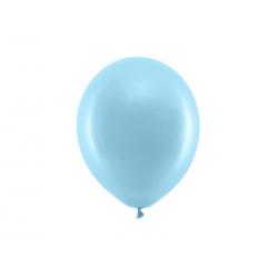 Balony Rainbow 23cm pastelowe, jasny niebieski (1 op. / 100 szt.)