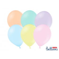 Balony Strong 27cm, Pastel Mix (1 op. / 10 szt.)