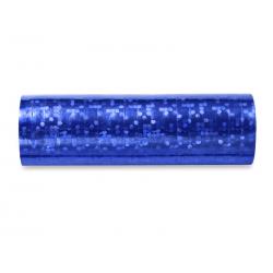 Serpentyny holograficzne, niebieski, 3,8m (1 op. / 18 szt.)