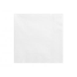 Serwetki trójwarstwowe, biały, 33x33cm (1 op. / 20 szt.)