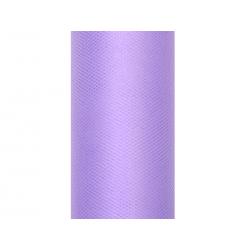 Tiul gładki, fiolet, 0,15 x 9m (1 szt. / 9 mb.)
