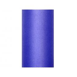Tiul gładki, granat, 0,15 x 9m (1 szt. / 9 mb.)