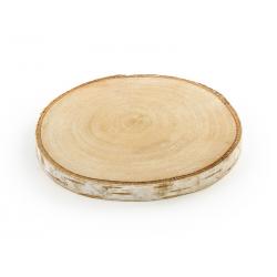 Podstawki drewniane, średnica 10-12 cm