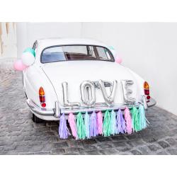 Zestaw dekoracji samochodowych - Love, mix